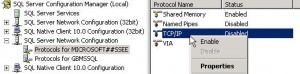 SQL 2008 Remote Connections