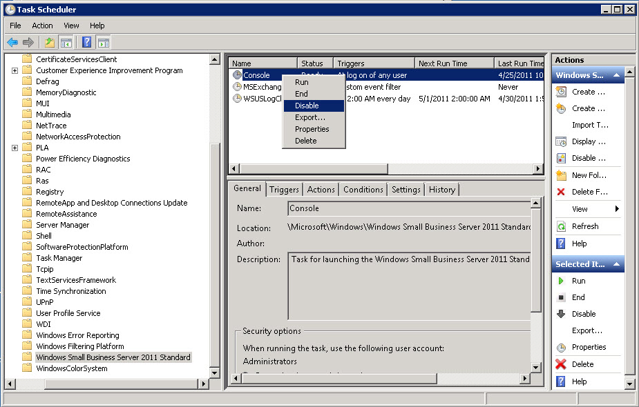 Windows sbs console download